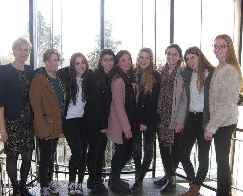 Foto deelnemers EYP Lyceum