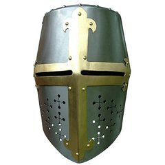 middeleeuwse helm